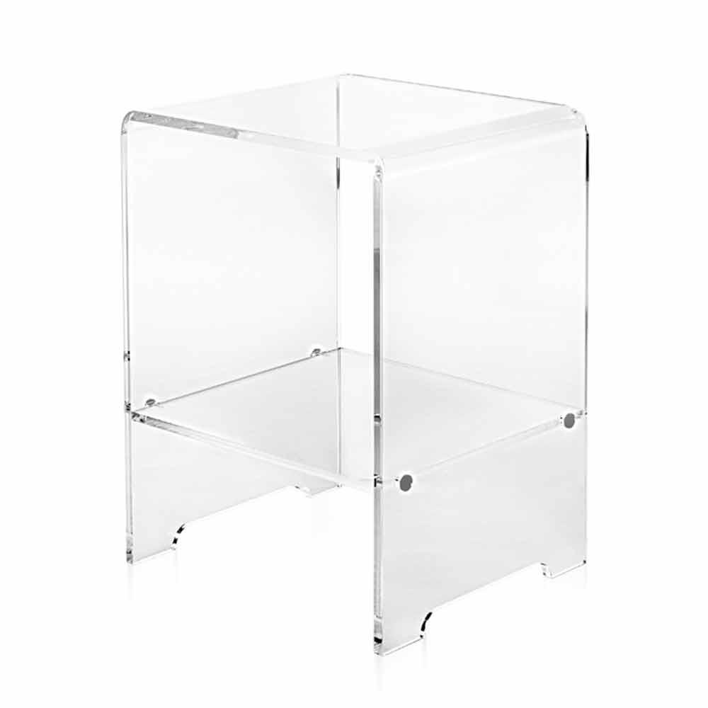 Table D Appoint Transparent De Design Moderne Mimi Faite En Italie