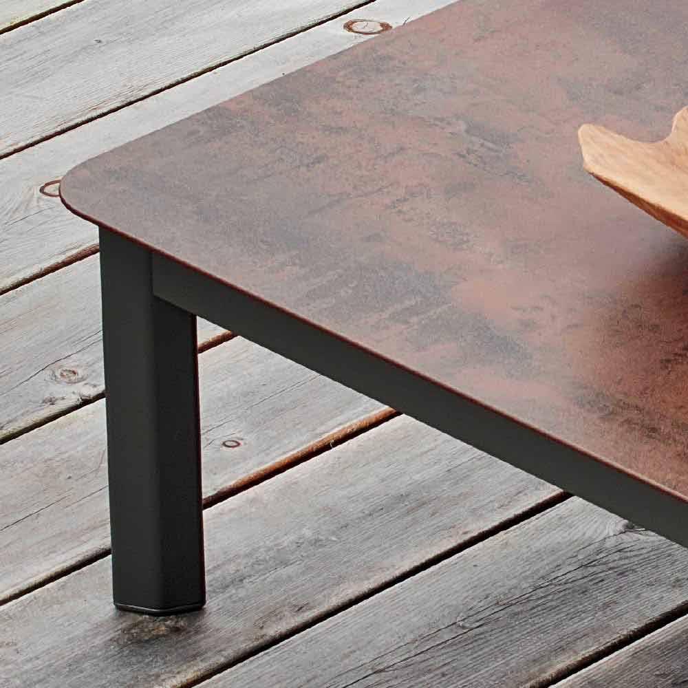 Peint System D'extérieur Aluminium De Design Varaschin Table En Basse CoWdrxBe