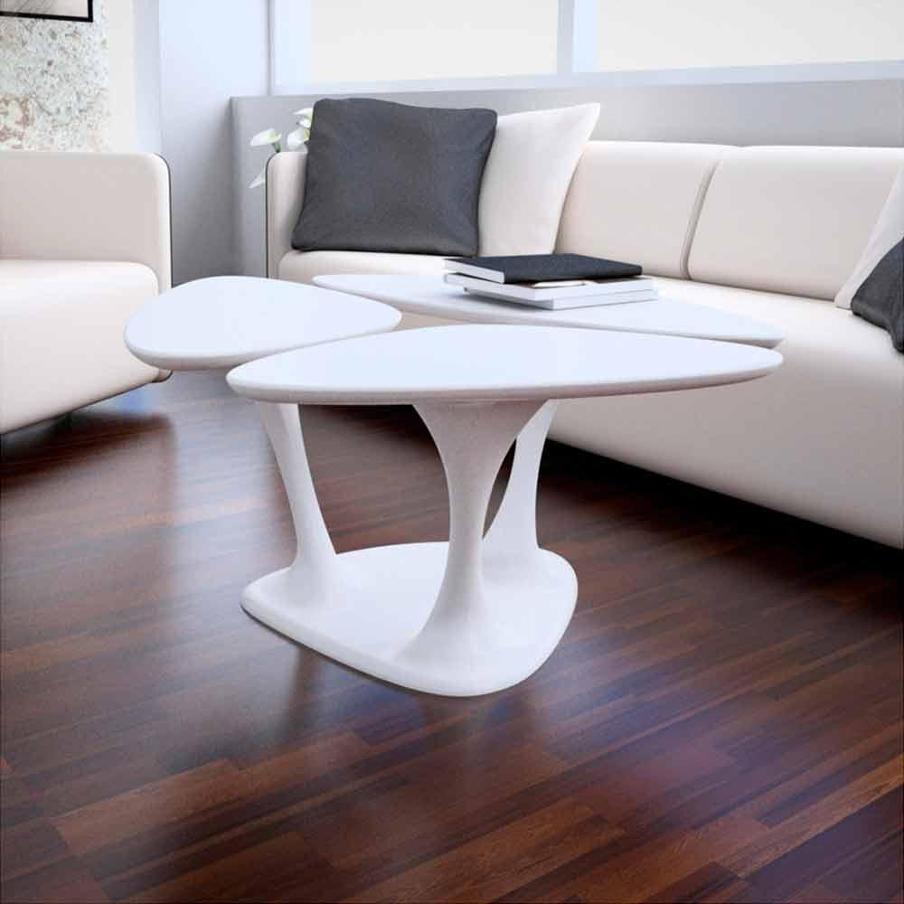 table basse amanita design moderne made in italy par zad. Black Bedroom Furniture Sets. Home Design Ideas