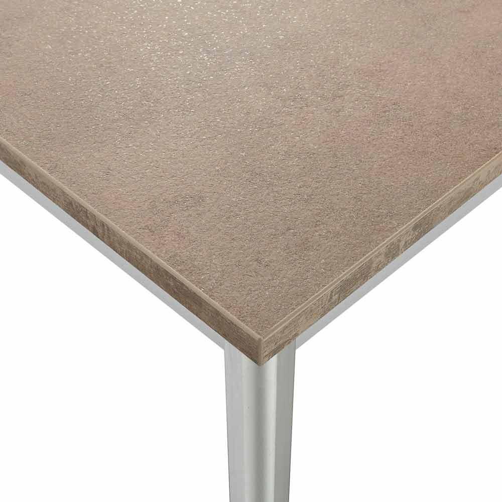 Table rallonge urbino en aluminium extensible jusqu 39 for Table extensible 3m