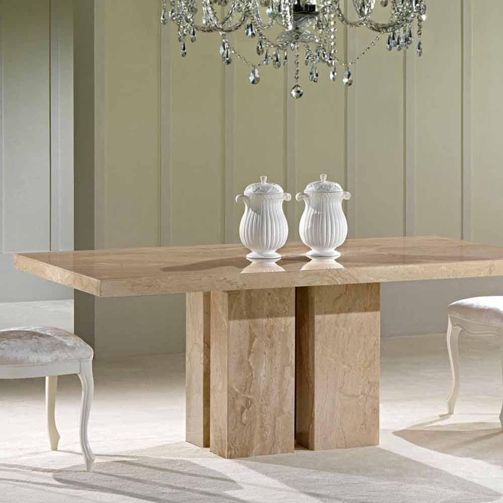 Table A Manger Moderne En Marbre De Haute Qualite Fabrique En Italie