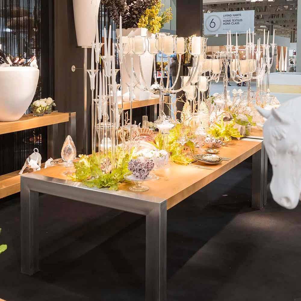 Table manger rectangulaire en bois de ch ne et acier frodo - Table a manger rectangulaire ...