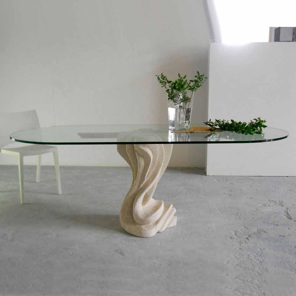 Plateau De Table En Pierre Naturelle table à manger en pierre naturelle de vicenza,plateau en cristal agave