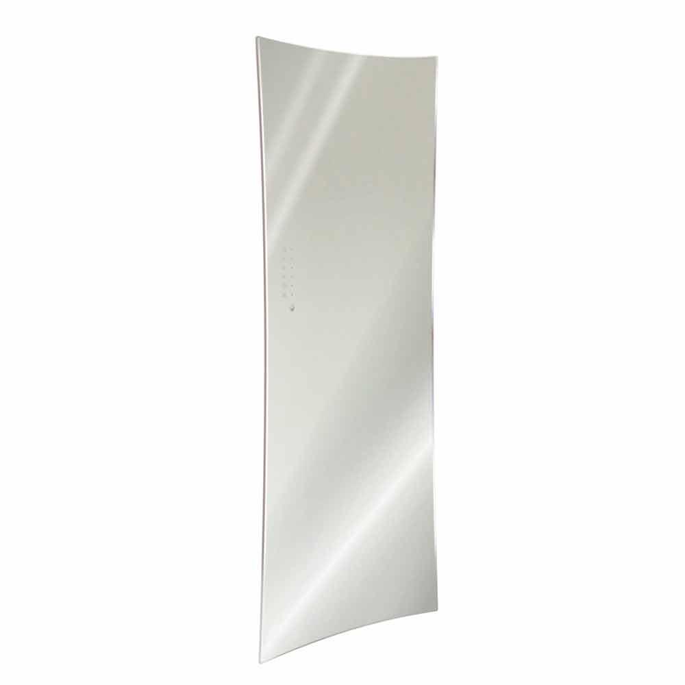 radiateur miroir lectrique de design moderne en verre tremp barry. Black Bedroom Furniture Sets. Home Design Ideas