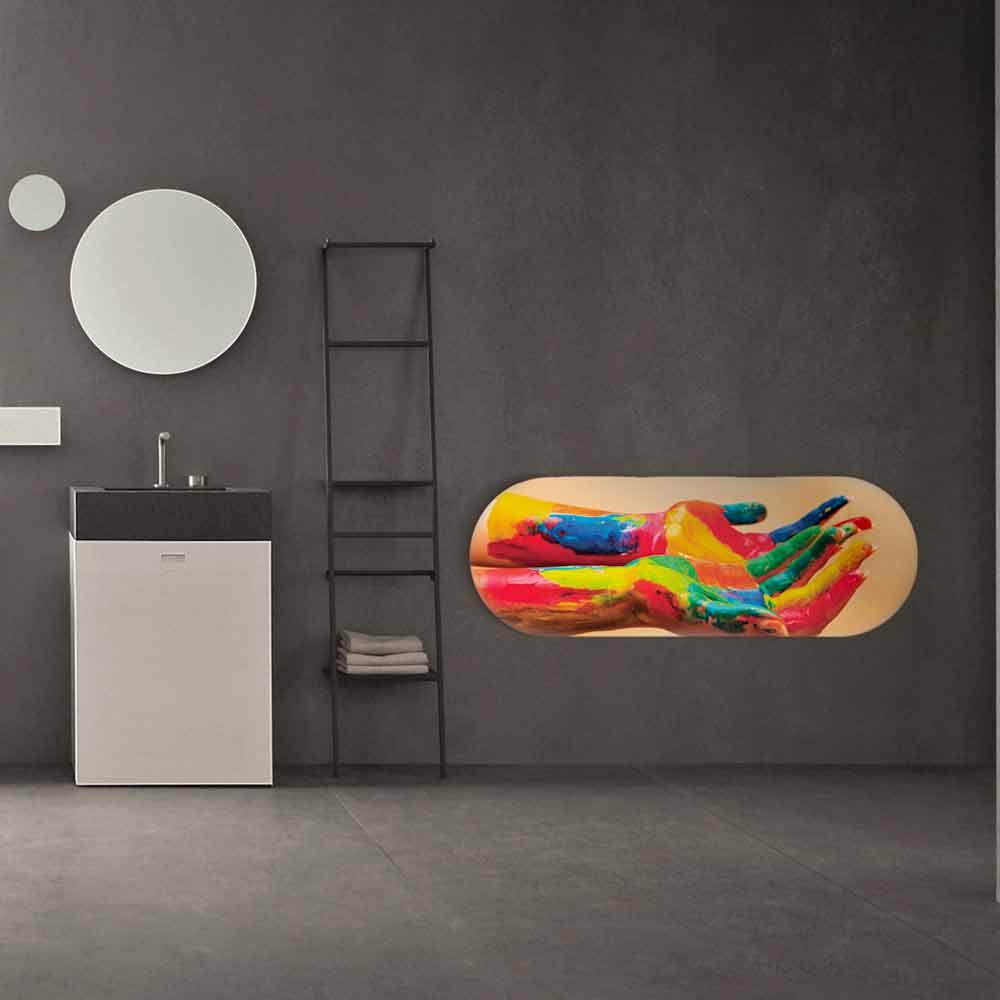 radiateur lectrique moderne brian personnalisable avec photo. Black Bedroom Furniture Sets. Home Design Ideas