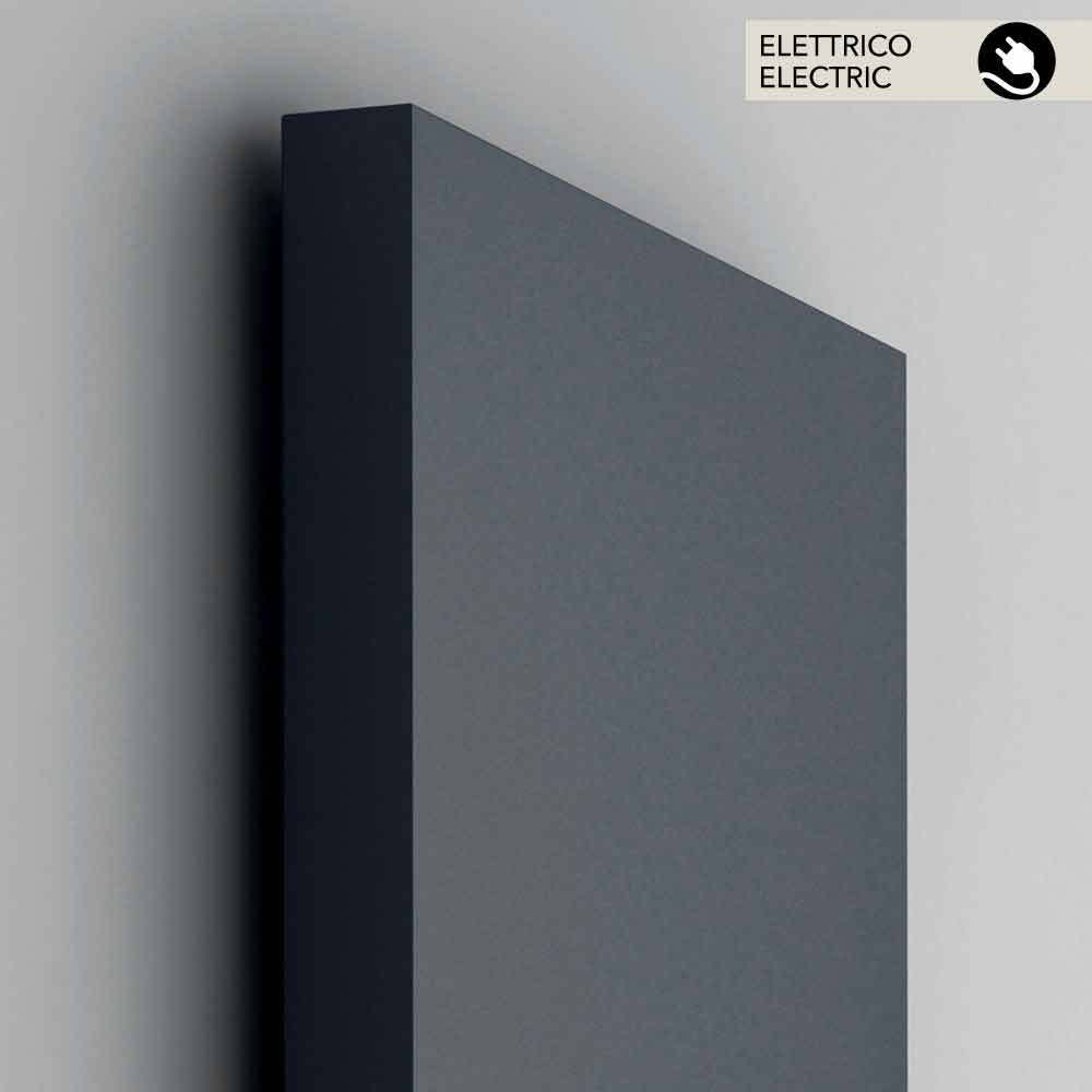 radiateur lectrique vertical couverture en acier light. Black Bedroom Furniture Sets. Home Design Ideas