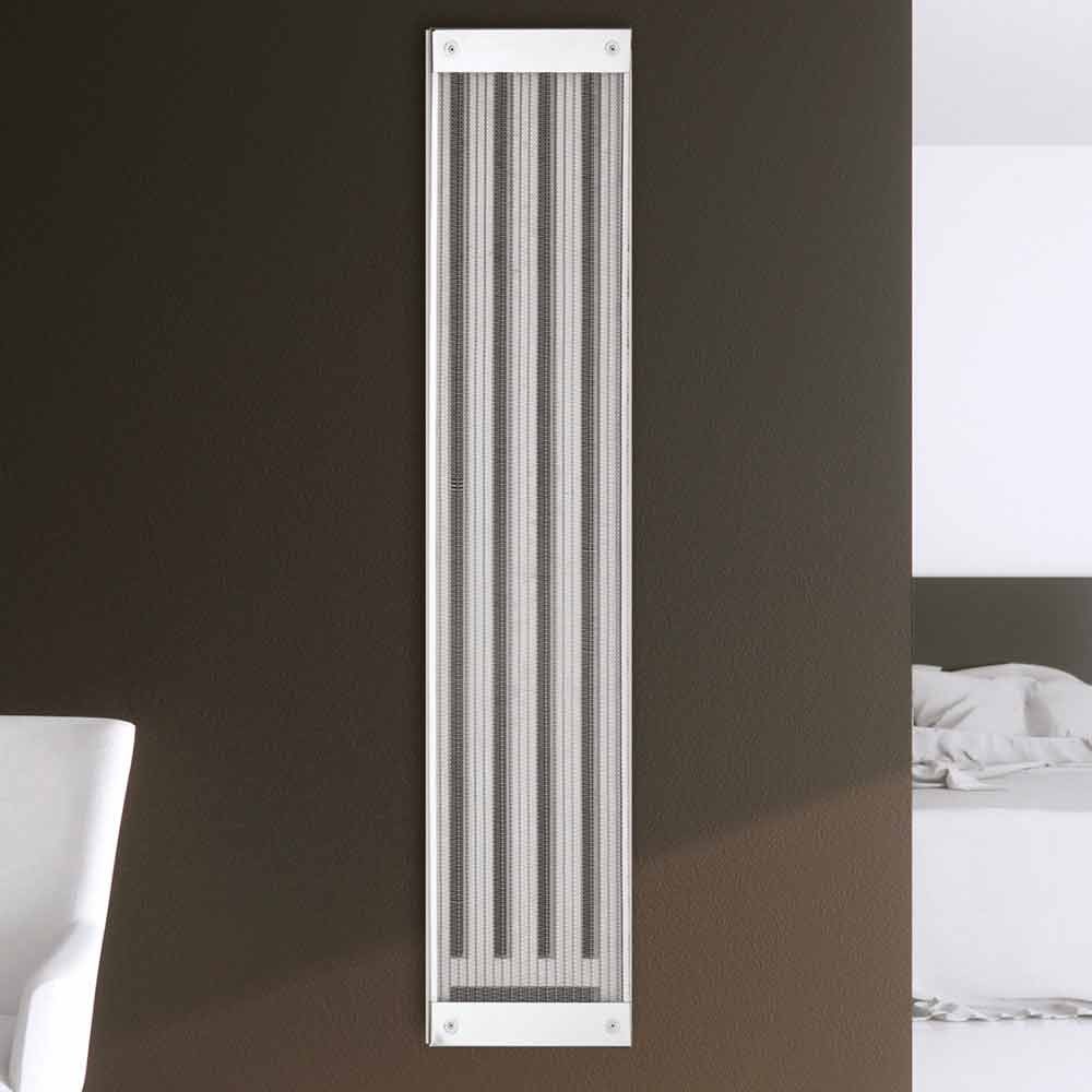 radiateur lectrique vertical de design moderne new dress par scirocco h. Black Bedroom Furniture Sets. Home Design Ideas