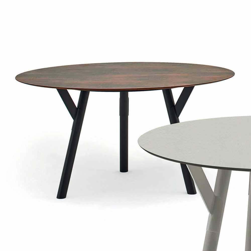 Varaschin Link Table Manger Ronde De Jardin D