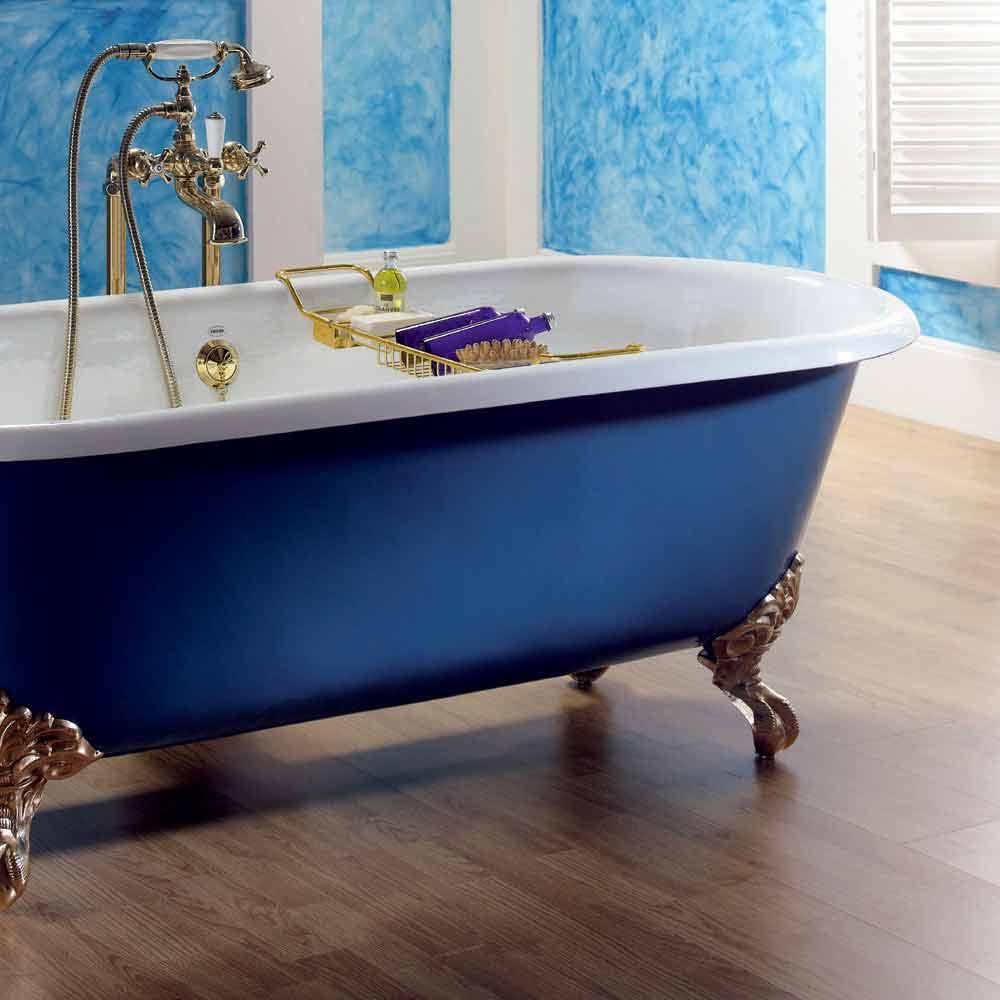 baignoire en fonte freestanding vernis avec pieds diane. Black Bedroom Furniture Sets. Home Design Ideas