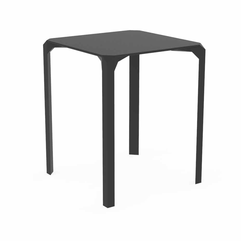 vondom quartz table de jardin carr e en polyamide de design moderne. Black Bedroom Furniture Sets. Home Design Ideas