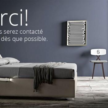 Demandez votre lit sur mesure Made in Italy