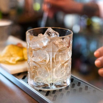 12 doubles verres à l'ancienne en cristal écologique de luxe - Destino