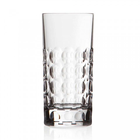 12 verres Highball pour boissons gazeuses ou boissons longues en cristal écologique - Titanioball