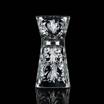 12 verres jigger décorés de luxe en cristal écologique - Destiny