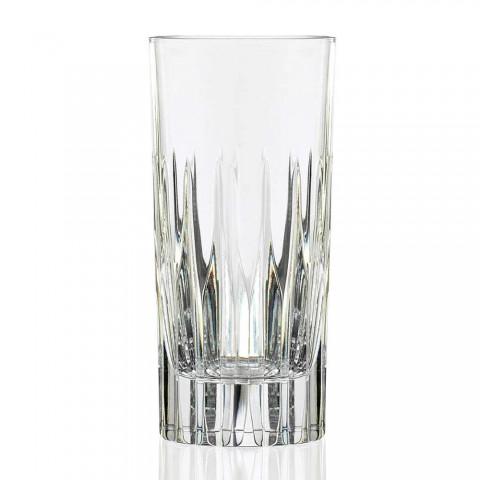 12 verres à long drink Tumbler Tall en cristal écologique - Voglia