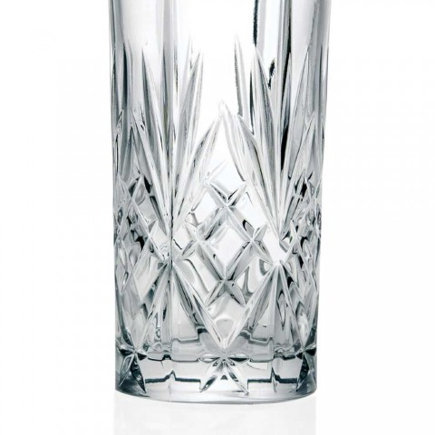 12 Verres Highball Tumbler Alto pour Cocktail en Eco Crystal - Cantabile