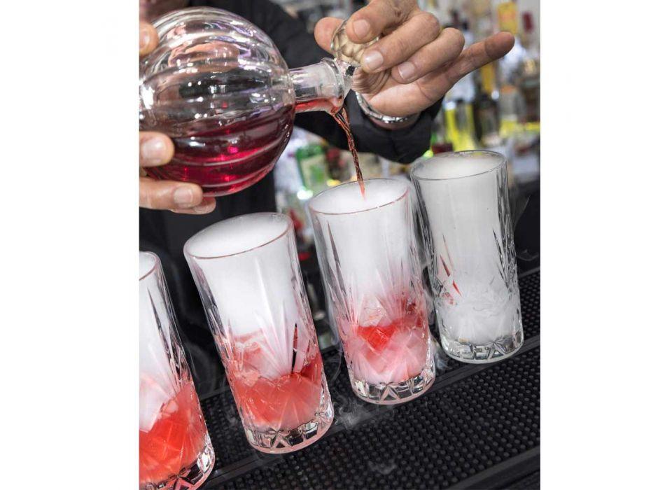 12 Verres Highball Tumbler Alto pour Cocktail en Eco Crystal - Cantabile