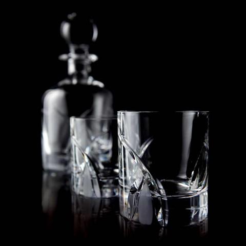 12 verres à gobelet bas au design de luxe en cristal écologique - Montecristo