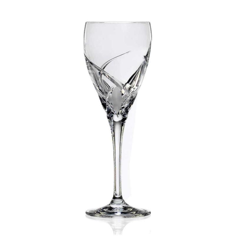 12 verres à vin rouge dans un design de luxe en cristal écologique - Montecristo