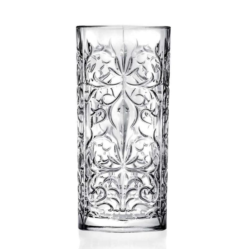 12 Verre à cocktail Highball ou eau décorée de luxe - Destiny