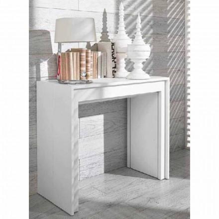 Table console extensible/ table de salle à manger Lie, design moderne