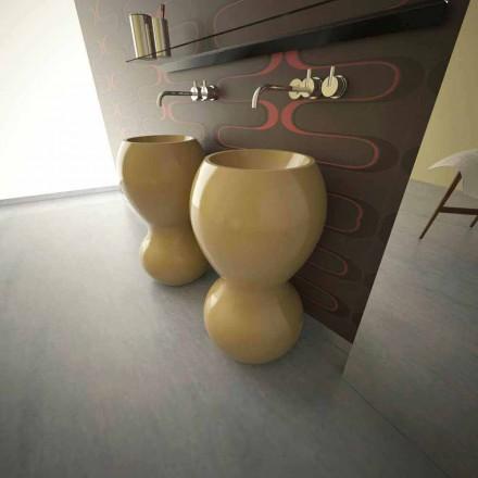 Lavabo à poser au sol de design moderne fait en Italie, Ariel