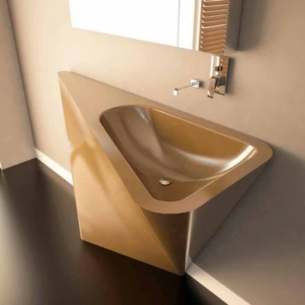 Lavabo à poser au sol design moderne fabriqué en Italie Mullet
