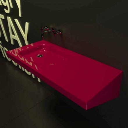Lavabo à suspendre de design moderne fait en Italie Saddled