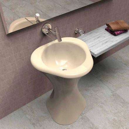 Lavabo moderne à poser au sol  fabriqué en Italie, Twister