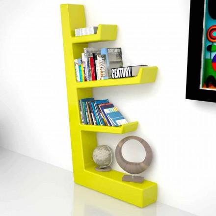 Bibliothèque moderne en Solid Surface® Austen fabriquée en Italie