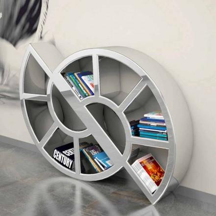Bibliothèque design moderne fabriquée en Italie Nicol