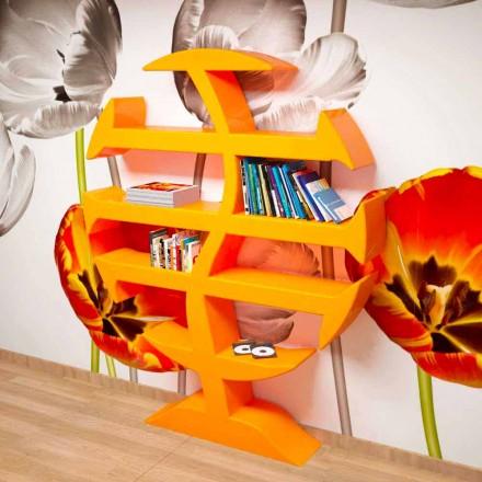 Bibliothèque moderne fabriquée artisanalement en Italie Stevenson