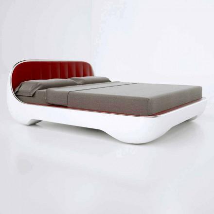 Lit double Luxury de design moderne fabriqué en Italie, Avantgarde