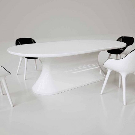 Table de design contemporain  fabriquée en Italie, Comfortable