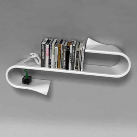 Étagère design moderne fait en Italie, Waveshelf Viadurini Design