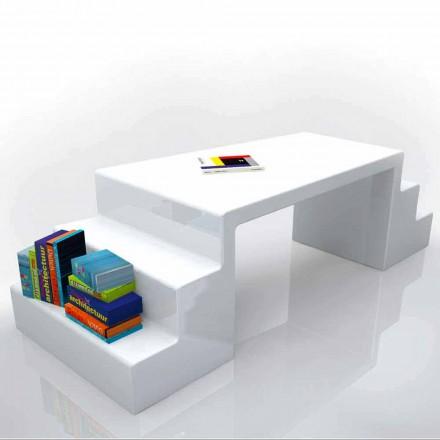 Bureau de design moderne blanc, vert ou moka Abbott