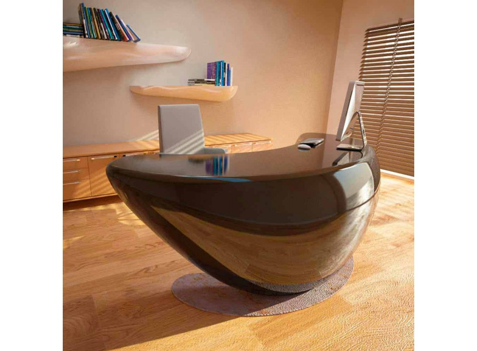 Moderne Boomerang Desk Office Made in Italy