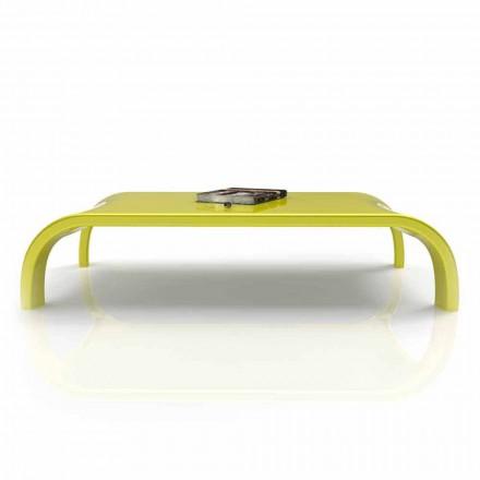 Table basse de salon design moderne fabriquée en Italie, Downhill