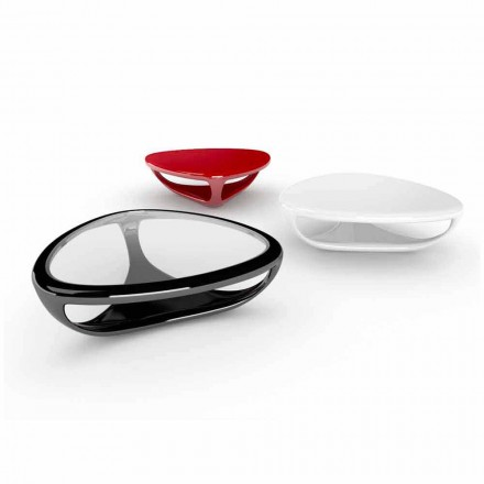 Table basse moderne haut design fabriquée en Italie, Genesi