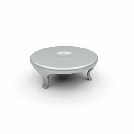 Table de salon basse design moderne  fabriquée en Italie, Round