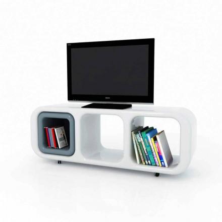 Meuble tv de design moderne fabriqué en Italie, Eracle