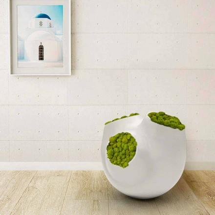 Vase décoratif moderne fabriqué en Italie, Luna