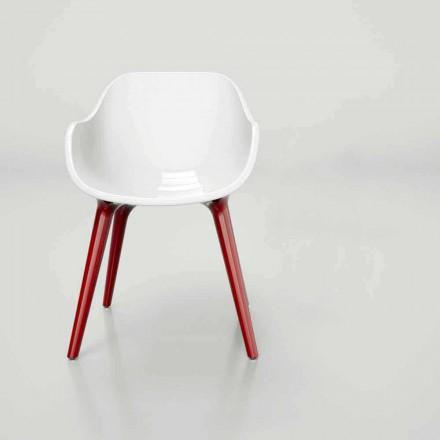 Chaise de design moderne fabriquée en Italie, Manu