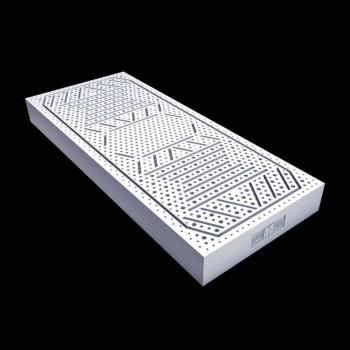Un matelas et un demi-carré 7 Zone 100% latex PureLatex