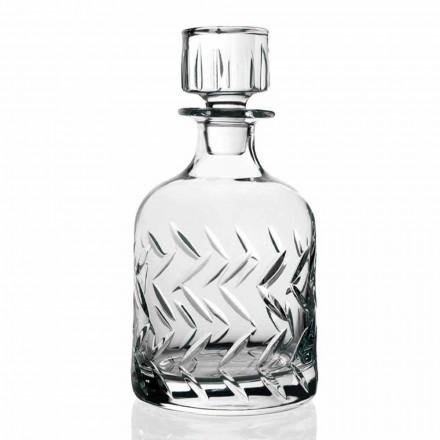 2 bouteilles de whisky en cristal écologique avec couvercle, décorations vintage - arythmie