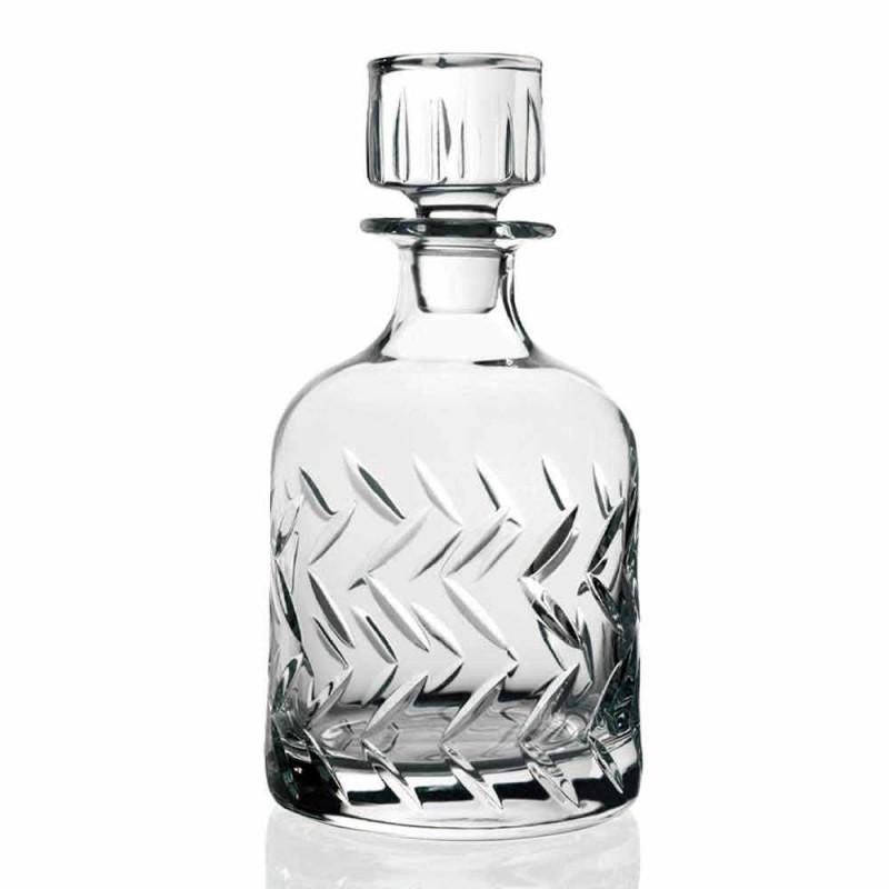 2 bouteilles de whisky en cristal écologiques avec bouchon décoratif vintage - arythmie