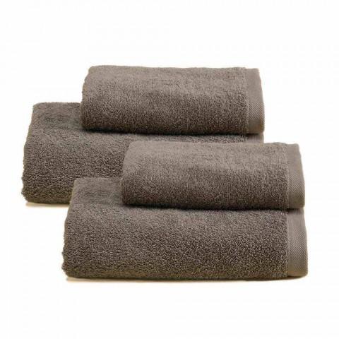 2 Paires de Serviettes de Bain Colorées Service en Coton Spguna - Vuitton