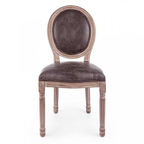 2 chaises de salle à manger design classique en polyester Homemotion - Dalida
