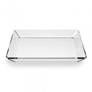 2 Plateau D'entrée De Design Moderne En Plexiglas En Plexiglas Transparent - Tonio