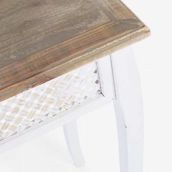 3 Console Design de Style Classique en Bambou Bambou et Mdf - Camalow